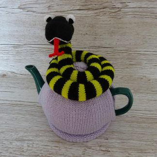 knitted tea cosie snake
