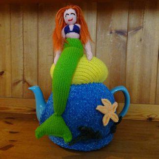 tea cosie knitted mermaid