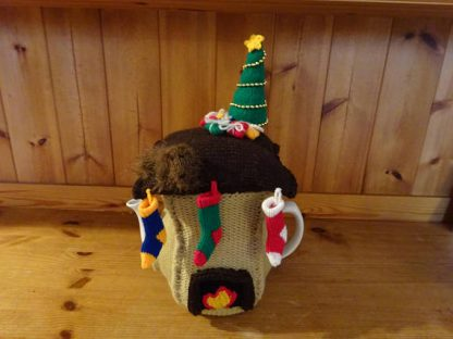 knitted tea cozy shabby chic